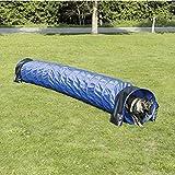 Trixie Túnel Agility, Nylon, ø60 cm, 5.00 m, Azul