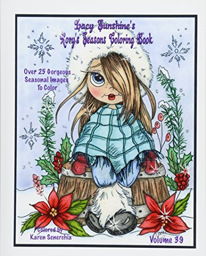 Lacy Sunshine's Rory's Seasons Coloring Book: Rory Sweet Urchin Celebrates Winter Spring Summer Fall Coloring All Ages Volume 39 (Lacy Sunshine's Coloring Books, Band 39) (Winter Heather)