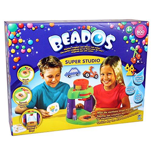 Beados (Bindeez) Starterpackung mit Super Studio, 800 Perlen, Sprayer (Beados Perlen)