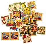 Selecta 63017 Memo Kunterbunt, Kinderspielzeug