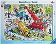 Ravensburger 06768 - Rettungseinsatz, 39 Teile Rahmenpuzzle