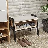 Huisende Stapelbare Gebrauchs-Bücherregal-Anzeigen-Lagerregal Gepolsterte Schemel-Bank-Schuh-Speicher-Kabinett für den Flur-Eingang benutzt als Nebentisch für Nacht auf Schlafzimmer
