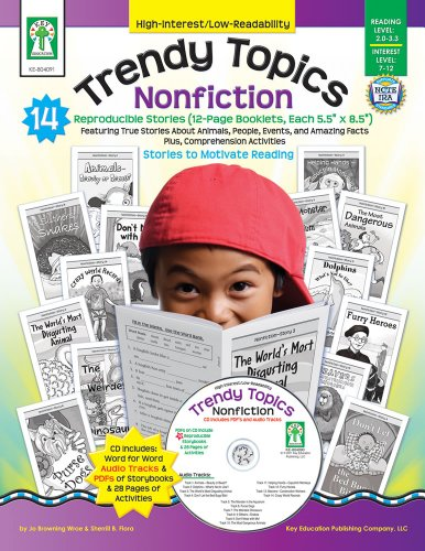 Trendy Topics: Nonfiction [With CDROM] (High-Interest/Low-Readability)