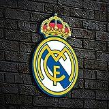 #10: nish! Real Madrid Football Club MDF Wooden Wall Hanging (MDF Wood, 9
