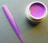 5ml Shimmering Farbgel in verschiedenen Farben (Auswählbar) Color Your Nails (Purple)