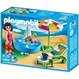 Playmobil 4860 girl with swimming ring toys - Playmobil swimming pool best price ...