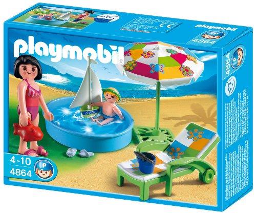 Playmobil - Vacaciones Piscina Para...