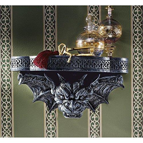 Design Toscano Gargoyle-Träger, Skulpturales Wandregal