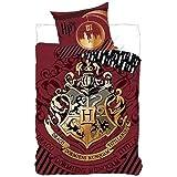 Juego de cama Harry Potter–Funda de edredón 140x 200cm funda de almohada 63x 63cm