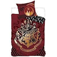 Parure de lit Harry Potter - Housse de couette 140 x 200 cm Taie 63 x 63 cm