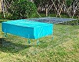 WOLTU® Freigehege Laufstall Gehege Kleintiergehege Welpenauslauf mit Ausbruchsperre 216 x 116 x 65 cm, mit Abdeckung, inkl. Sonnenschutz, Verzinkte Ausführung HT2066m1-c - 2