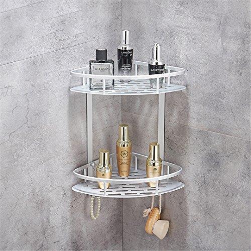 Duscheen Nagel-Freies Badezimmer-Regal-Gold- u. Silber-Regale Duschen-Eckregal-Wand-Berg-Shampoo-Speicher-Regal-Zahnstangen-Badezimmer-Korb-Halter BS-091G (Filter-korb Halter)