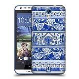 Head Case Designs Blumen Vase Chinesische Vase Muster Ruckseite Hülle für HTC Desire 620 / 620 Dual Sim