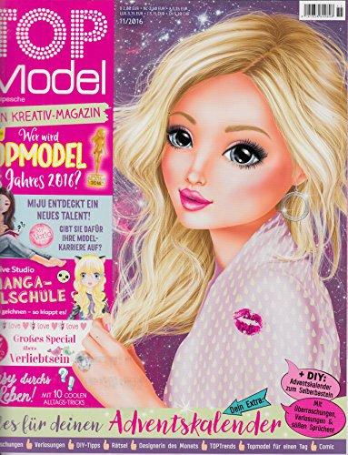 Top Model 11 2016 Miju Manga Malschule Adventskalender Zeitschrift Magazin Einzelheft Heft Kreativ Topmodel