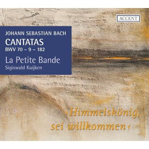 Himmelskönig, sei willkommen, BWV 182: Aria. Leget euch dem Heiland unter (Alto)
