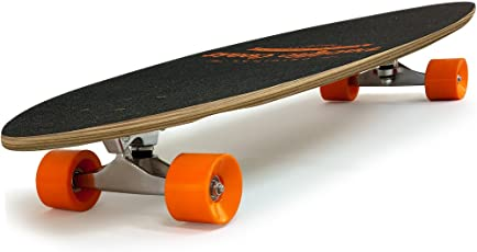 Longboard Komplettboard 112 cm 44 Inch ABEC7 Pintail Farbauswahl