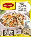 Maggi fix & frischgemüse-Pfanne mit Hackfleisch, 37g Beutel, ergibt 3 Portionen 12er Pack (12 x 37 g)