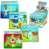Fuzzy Felt Picture Play 19cm - Assorted Themes