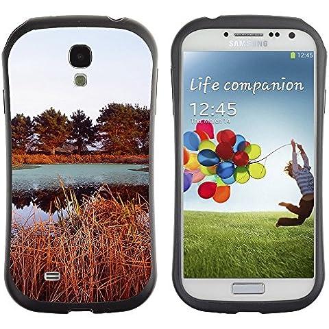 Super Galaxy iFace Series Tpu Silicona Carcasa Funda Case // V00005583 Opinión del otoño del lago // Samsung Galaxy S4 S IV SIV