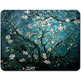Meffort Inc Standard 7 x 9 Inch Mouse Pad - Vincent van Gogh Almond Blossoming