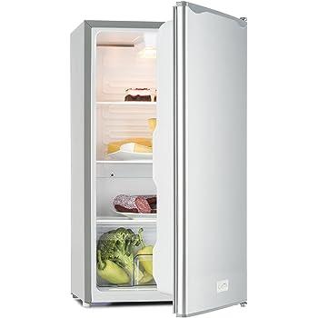 Klarstein monroe nero frigorifero e congelatore aspetto for Frigorifero e congelatore