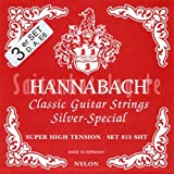 Hannabach 8157 SHT Silver Special, 3-Bass Set