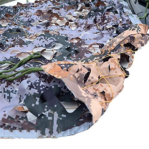 n Sonnenschutznetze Tarnnetz Doppelseitig Dunkler Digitaldruck Für Zelten Verstecken Draussen Garten Terrasse Sonnenschutzzelte (Size : 3x10m) ()