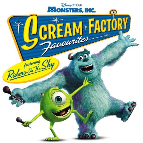 Monsters Inc Scream Factory Favourites