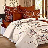 Story@Home Metro Printed Mix N Match 186 TC Cotton Bedsheet for Double Bed with 2 Pillow Cover, Brown best price on Amazon @ Rs. 699