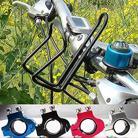 Support pour bouteille d'eau, Tianranrt Vélo en alliage d'aluminium de guidon support pour bouteille d'eau cages,