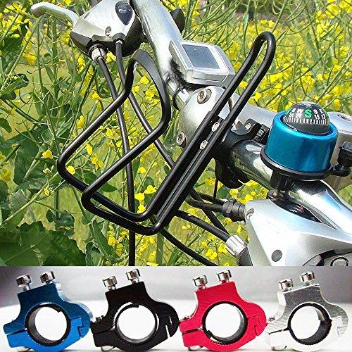 Oyedens Fahrrad Alu Lenker Wasser Flasche Halter (Schwarz)
