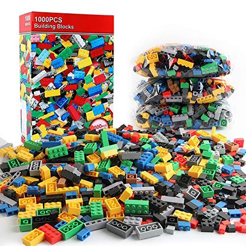 1000 stücke Stadt bausteine Sets legoINGs DIY kreative Ziegel Freunde Creator Teile pädagogisches Spielzeug für Kinder