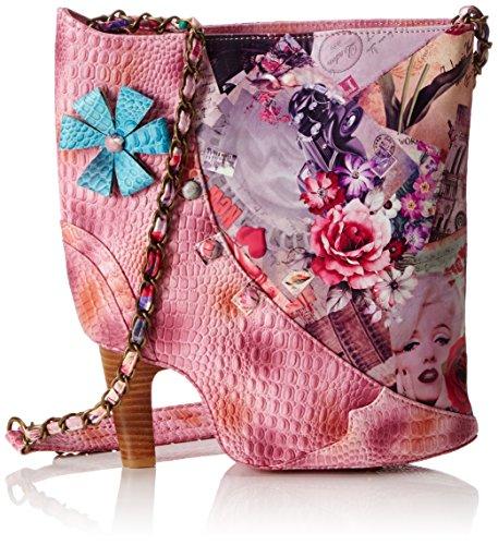 Laura Vita 2016-20, sac bandoulière Rose