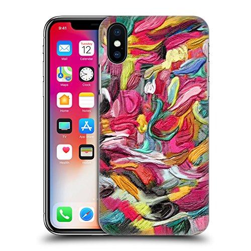 Ufficiale Giulio Rossi Astratto Collezione Pennellate Cover Retro Rigida per Apple iPhone 5 / 5s / SE Astratto