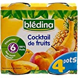 Cocktail Blédina De Fruits (6 Mois) 4 X 130G
