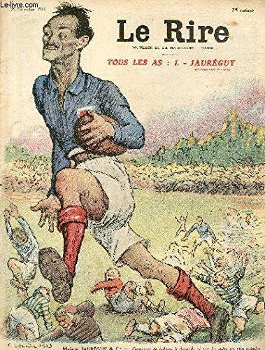 Le rire, N°256 - Tous les as : I. Jauréguy, international de rugby - Transport de ballons à domicile et par les voies les plus rapides par LEANDRE