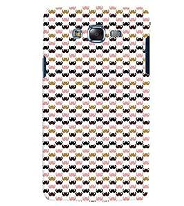 Citydreamz Moustache/Boy/Man/Abstract Design Hard Polycarbonate Designer Back Case Cover For Samsung Galaxy On5
