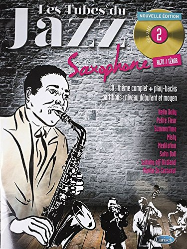 Tubes Du Jazz Sax Vol 2 Bk/Cd