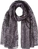 Desigual Damen Schal FOULARD_New Adhara, Grau (Gris Vigore Claro 2042), One Size (Herstellergröße: U)