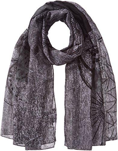Desigual Damen Schal Foulard_ New ADHARA, Grau (Gris Vigore Claro 2042), One Size (Herstellergröße: U)