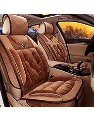 AMYMGLL Autozubehör Kissenbezug Standard Edition (7sets) und Deluxe Edition (11sets) Auto-Universal unten Cotton + Cotton Spring & Winter-4-Farbauswahl
