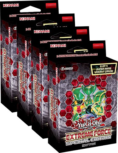 Yugioh - Extreme Force Special Edition - Boxen - Deutsch (4 Boxen) -