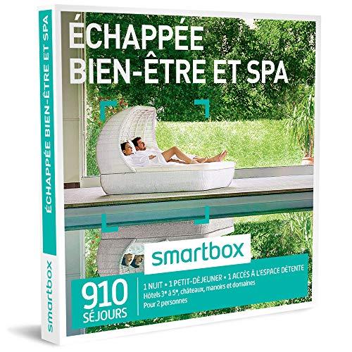 SMARTBOX - Coffret Cadeau - ECHAPPEE BIEN-ETRE ET SPA - 495 Sejours : Hotels de 3 a...