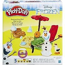 Play-Doh - Kit accesorios Olaf en la Playa (Hasbro B3401EU4)