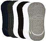 #9: Ozoy Unisex Cotton Athletic Socks (Sockspack6,Multicolor,Free Size)