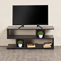 Home Centre Helios Arvis Engineered Wood TV Unit, Walnut, 35 * 15 * 15 inches (Model: HELIOS-HC-TV02)