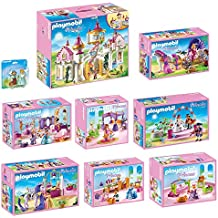 playmobil princess set en 9 parties 6848 6850 6851 6852 6853 6854 6855 6856 6843 - Playmobil Chambres Princesses