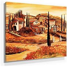 Fantastisch Mia Morro Mediterran Toskana Bild B180, 1 Teil 80x80cm Leinwand Auf  Holzrahmen Aufgespannt, FineArt