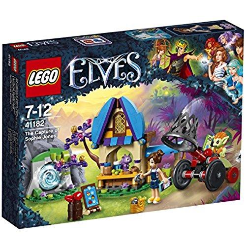 LEGO – 41182 – Elves – Jeu de Construction – La Capture de Sophie Jones