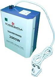 KODAMA Transformer 220V to 110V Power Converter 2000 Watt KOT2000W